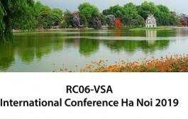 RC06-VSA International Conference Ha Noi 2019