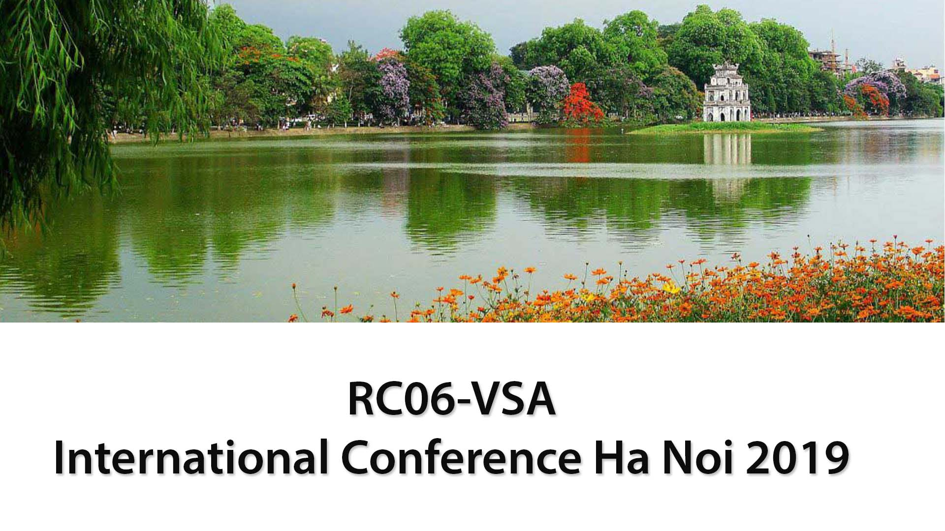 RC06-VSA International Conference Ha Noi 2019